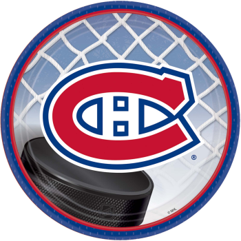 """Picture of NHL - MONTREAL CANADIENS - 7"""" PLATES"""