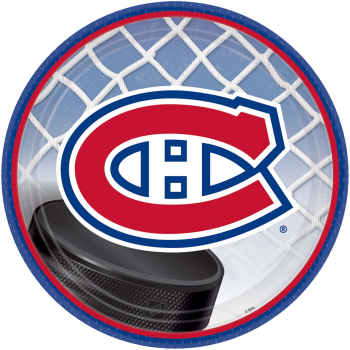 """Picture of NHL - MONTREAL CANADIENS - 9"""" PLATES"""