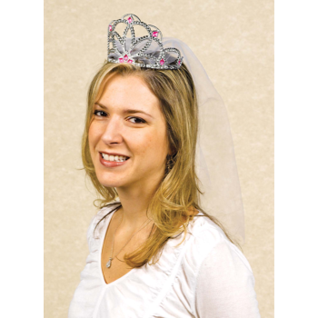 Picture of BRIDE TO BE TIARA W/ VEIL