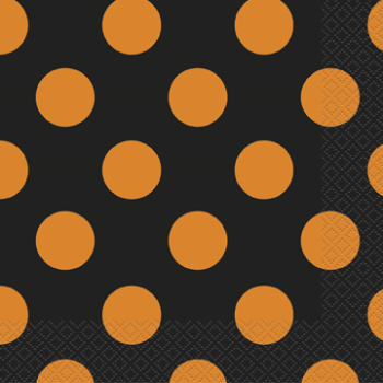 Picture of ORANGE & BLACK DOTS BN