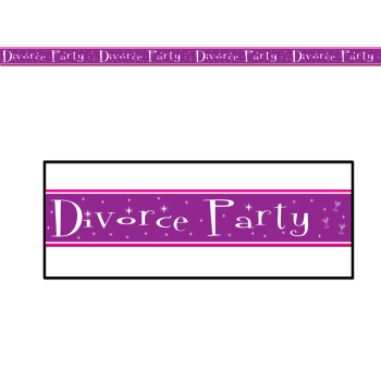 """Picture of DIVORCE PARTY TAPE - 20' X 3"""""""