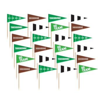 Picture of FOOTBALL FLAG PICKS
