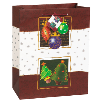Image de DECOR -  GIFT BAG - CHRISTMAS TREASURES LARGE GIFT BAG
