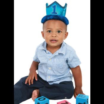 Image de WEARABLES - 1ST BIRTHDAY CROWN BLUE
