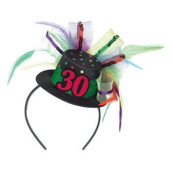 Picture of 30th BIRTHDAY FASCINATOR