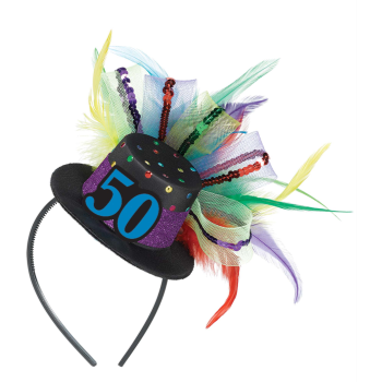 Image de 50th - BIRTHDAY FASCINATOR