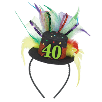 Picture of 40th BIRTHDAY FASCINATOR