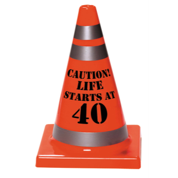 Picture of 40th CAUTION CONE