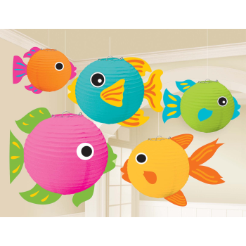 Picture of FISH LANTERNS 5/PK