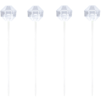 Image de CLEAR PLASTIC PICKS 24/PK