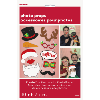 Image de DECOR - HO HO HO CHRISTMAS PHOTO BOOTH PROPS