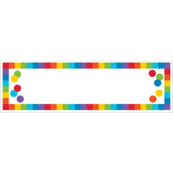 Picture of DECOR - GIANT CUSTOMIZABLE GIANT SIGN BANNER - RAINBOW