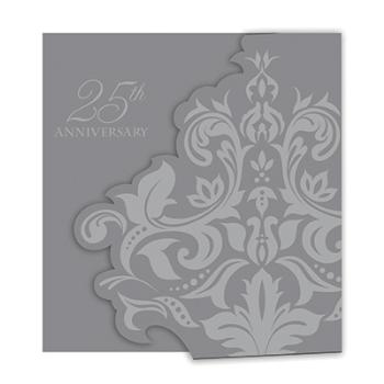Picture of 25th ANNIVERSARY INVITATIONS - SILVER