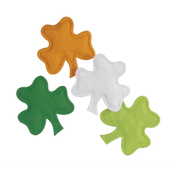 Picture of DECOR - CLOVER SHAPED PUFFY CONFETTI