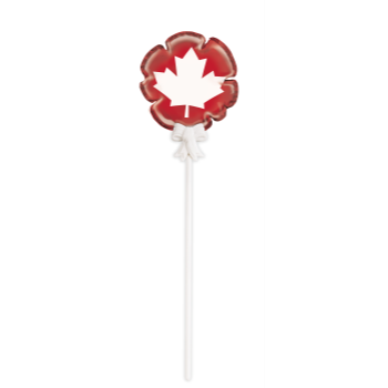 Picture of CANADA DAY LEAF MINI FOIL BALLONS
