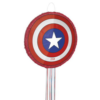 Image de CAPTAIN AMERICA SHIELD 3D SHAPED PINATA