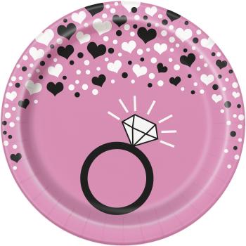 """Picture of BACHELORETTE PARTY  7"""" PLATES"""