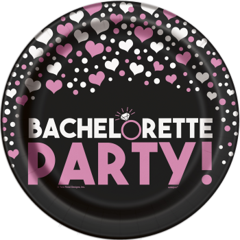 """Picture of BACHELORETTE PARTY  9"""" PLATES"""
