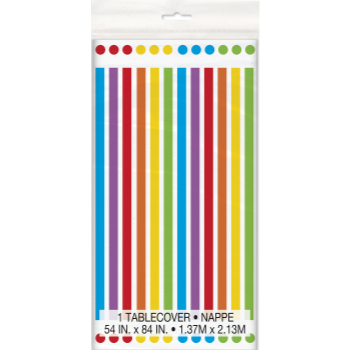 Picture of TABLEWARE - RAINBOW BIRTHDAY TABLE COVER