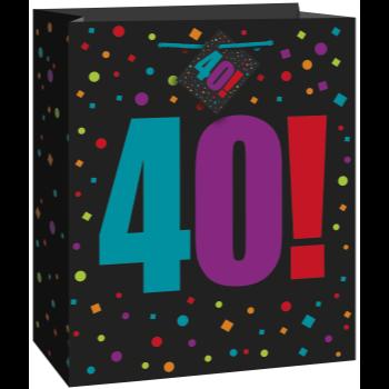 Image de 40th BIRTHDAY GIFT BAG - LARGE