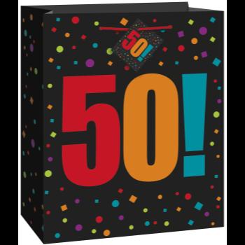 Image de 50th - BIRTHDAY GIFT BAG - LARGE