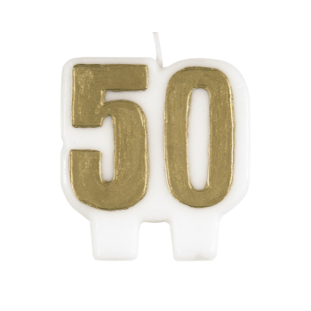Image de 50th - GOLD 50 CANDLE