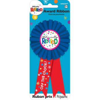 Picture of WEARABLES - OFFICIALLY RETIRED AWARD RIBBON