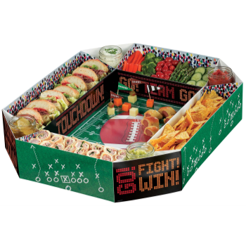 Picture of FOOTBALL SNACK STADIUM TRAY