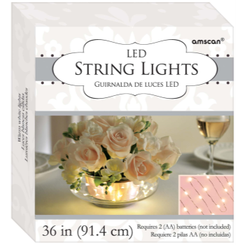 """Picture of LED STRING LIGHTS 36"""""""
