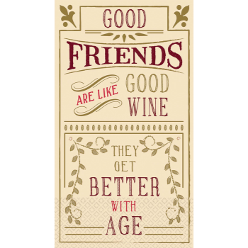 Image de BETTER WITH AGE GT - GOOD FRIENDS/WINE