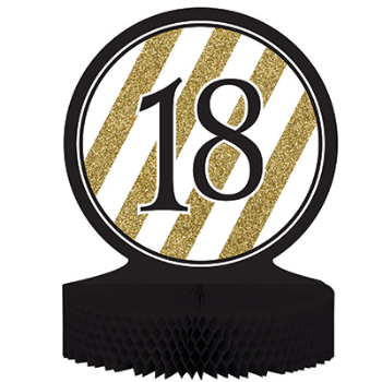 Picture of 18th BLACK AND GOLD CENTERPIECE