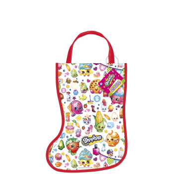 Image de DECOR - STOCKING SHAPE TOTE BAG - SHOPKINS