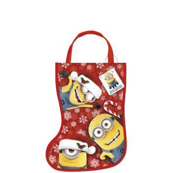 Image de DECOR - STOCKING SHAPE TOTE BAG - DESPICABLE ME