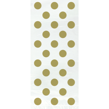 Picture of GOLD DOTS CELLO BAGS 20CT