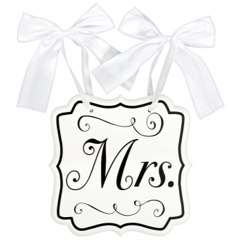 Picture of CHAIR SIGN - MRS