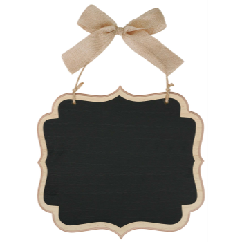 Picture of LG CHALKBOARD SIGN - NATURAL
