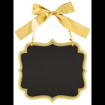 Image de LG CHALKBOARD SIGN - GOLD GLITTER