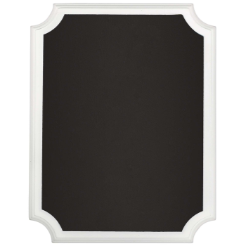 Picture of CHALKBOARD EASEL SIGN - WHITE