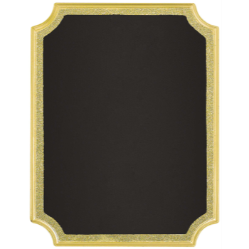 Picture of CHALKBOARD EASEL SIGN - GOLD GLITTER