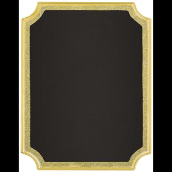 Image de CHALKBOARD EASEL SIGN - GOLD GLITTER