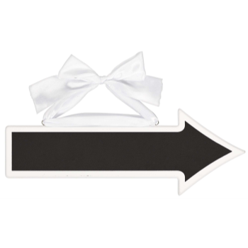 Picture of CHALKBOARD ARROW SIGN - 2 SIDED