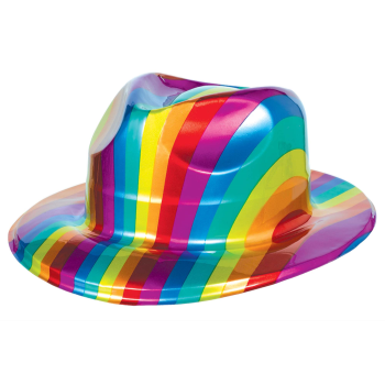 Picture of RAINBOW PLS FEDORA HAT