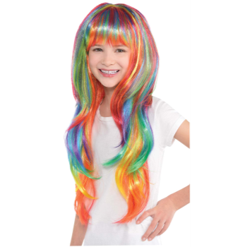 Picture of RAINBOW GLAMOUROUS WIG