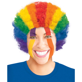 Picture of RAINBOW CURLY WIG