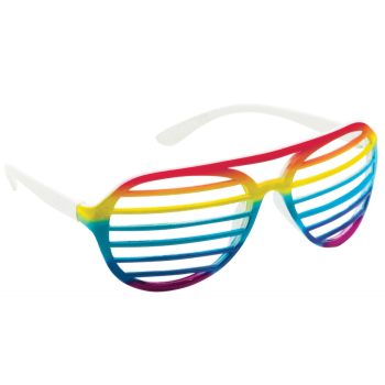 Picture of RAINBOW SLOT GLASSES