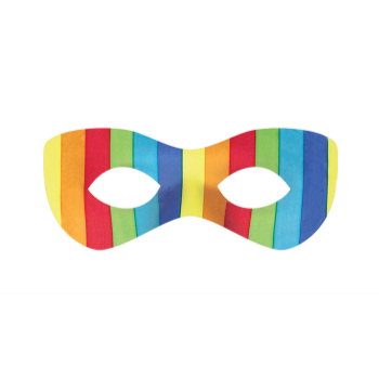 Picture of RAINBOW SUPER HERO MASK