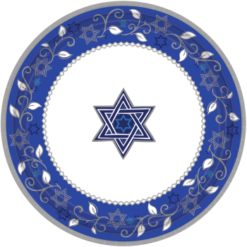 """Picture of PASSOVER - JOYOUS HOLIDAY 7"""" PLATES"""