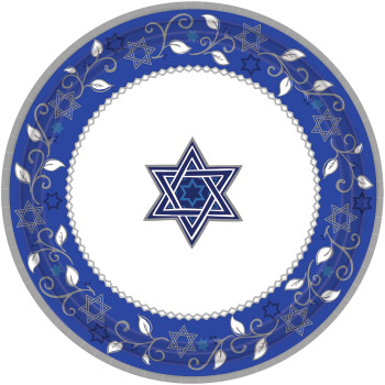 """Picture of PASSOVER - JOYOUS HOLIDAY 10"""" PLATES"""