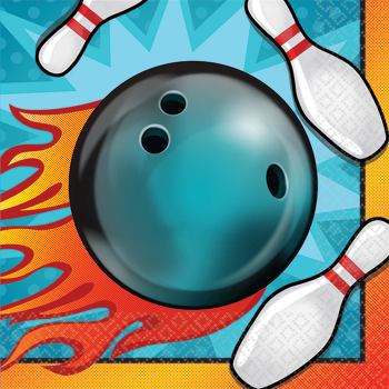 Picture of BOWLING BEVERAGE NAPKINS