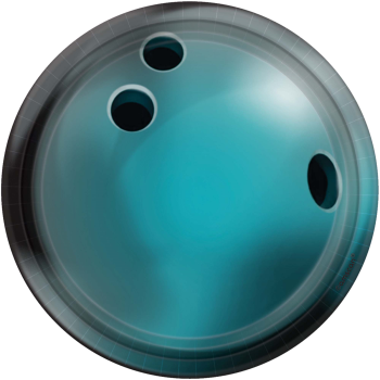 """Picture of BOWLING 7"""" ROUND PLATES"""